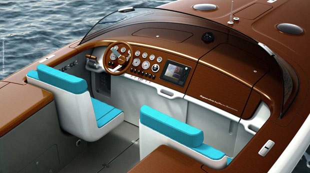Riva Yacht Aquariva by Marc Newson