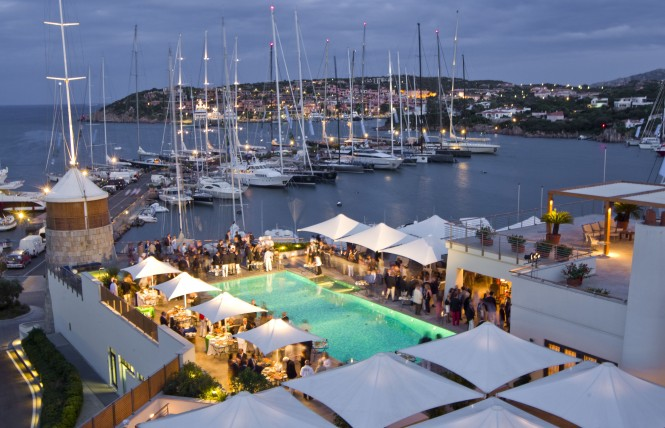 Rolex Swan Opening Reception at Yacht Club Costa Smeralda (c) Rolex & Carlo ...