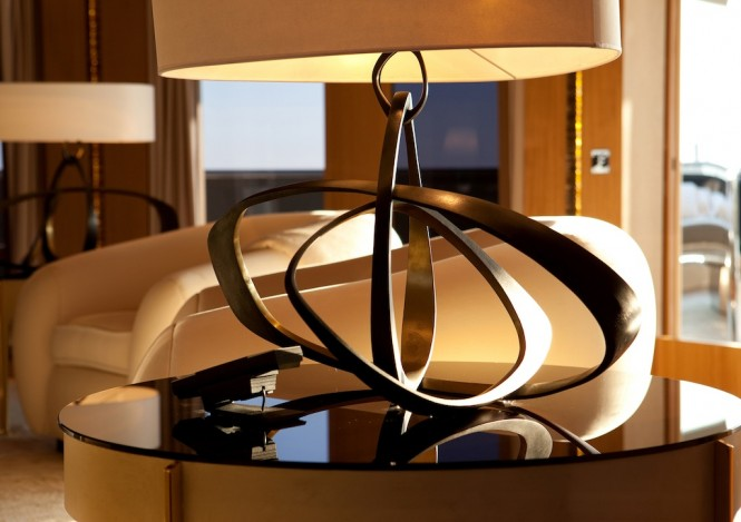 Rossinavi superyacht Numptia - Interior design by Salvagni Architetti