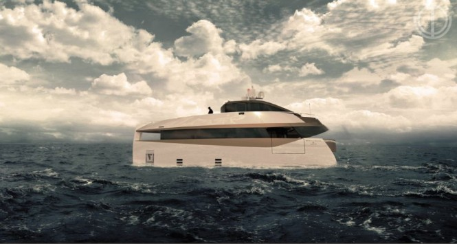SERION EXPLORER E60 yacht by Motion Code Blue