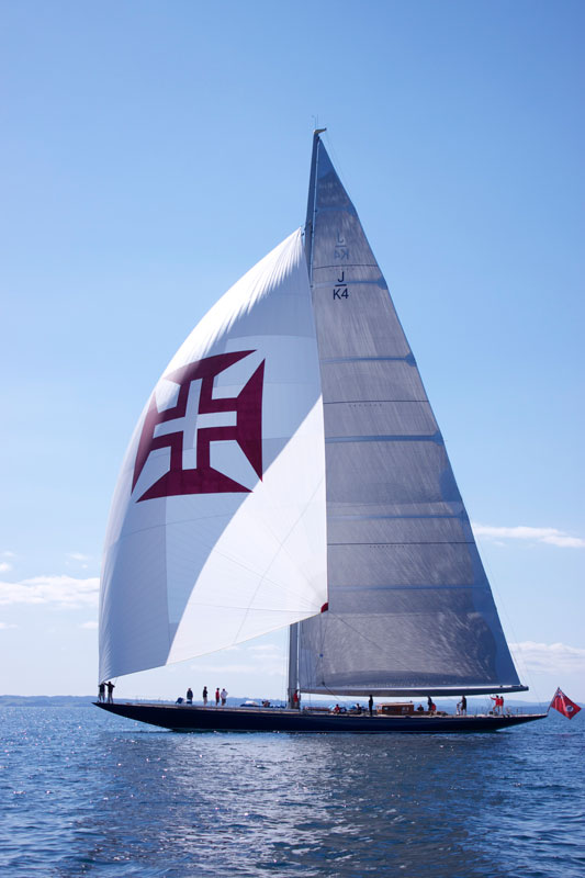 Sail yacht Endeavour's Sea Trials a Success
