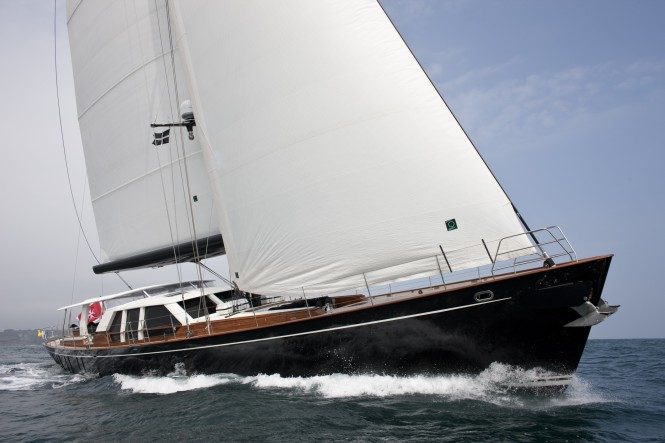 Sailing yacht Akalam by Pendennis - Photo Credit Mark Lloyd