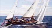 Sailing yacht DORADE credit Cory Silken