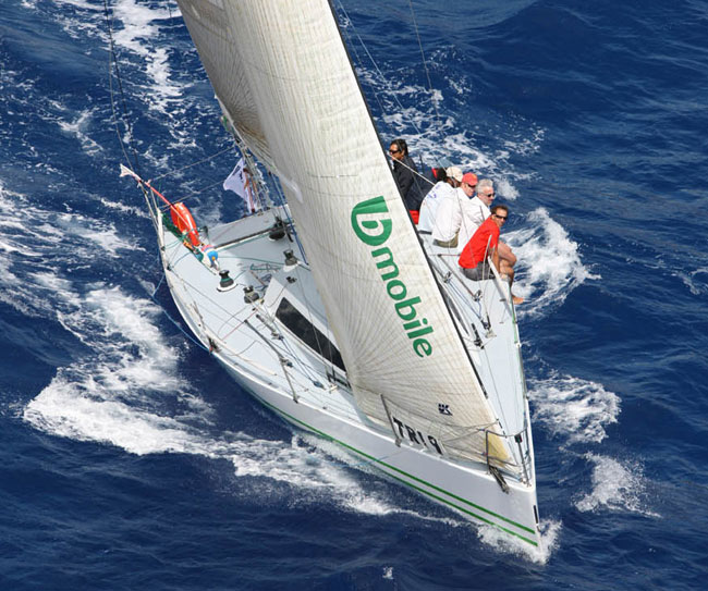 Sailing yacht HighTension