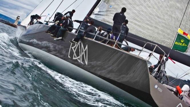Sailing yacht Rán - Credit: Rolex/Carlo Borlenghi