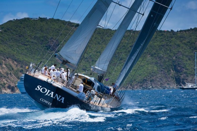 The luxury charter yacht Sojana - Photo Credit: Christophe Jouany official photographer LVSB