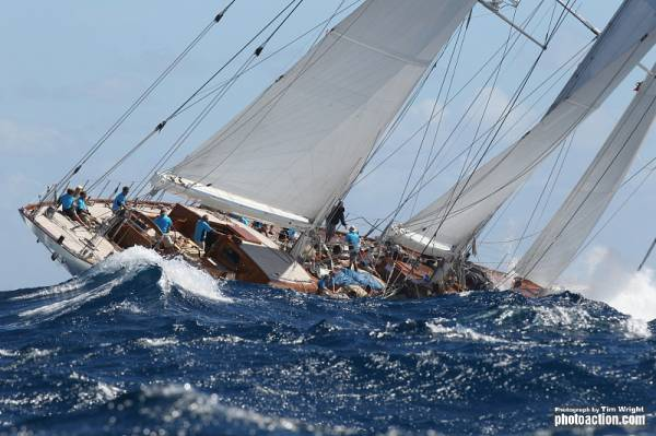 Sailing yacht Windrose of Amsterdam. Photo Credit  RORC Tim Wright photoaction