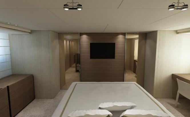 Sanlorenzo luxury motor yacht SL94