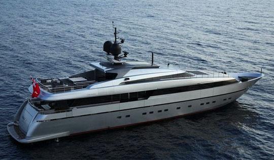 Sanlorenzo luxury yacht ONYX