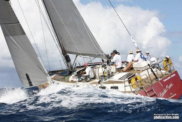 Sailing yacht Scarlet Logic win IRC Two Credit: Tim Wright/Photoaction