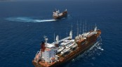 Sevenstar Yacht Transport load and discharge first yachts in Australia in 2012