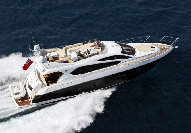 Sunseeker luxury motor yacht Manhattan 63