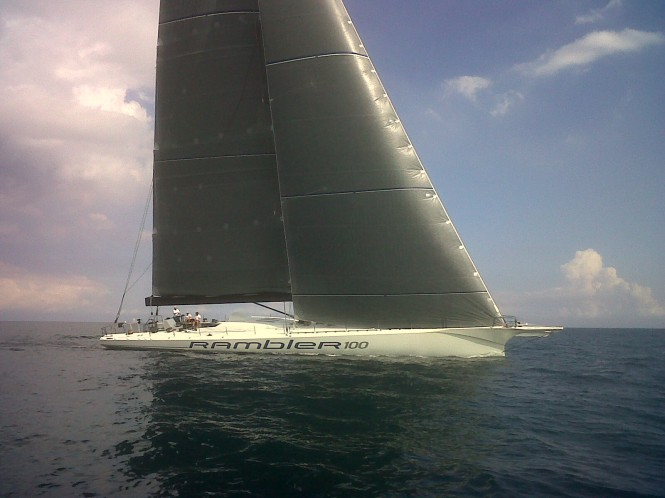 Super Maxi Sailing Yacht Rambler