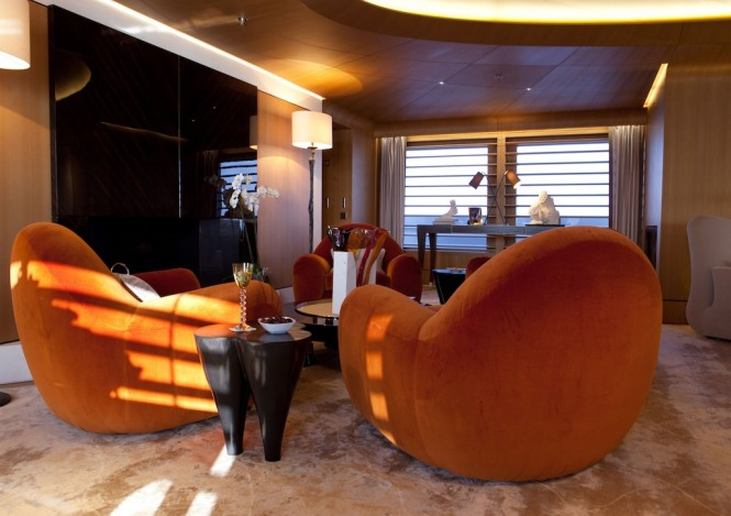 Superyacht Numptia with interior by Salvagni Architetti