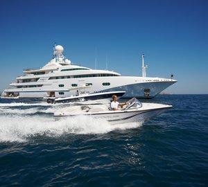 Caribbean and Mediterranean charter vacations aboard the prestigious charter yacht PEGASUS V (ex Princess Mariana)