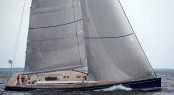 Swan 80 sailing yacht Selene