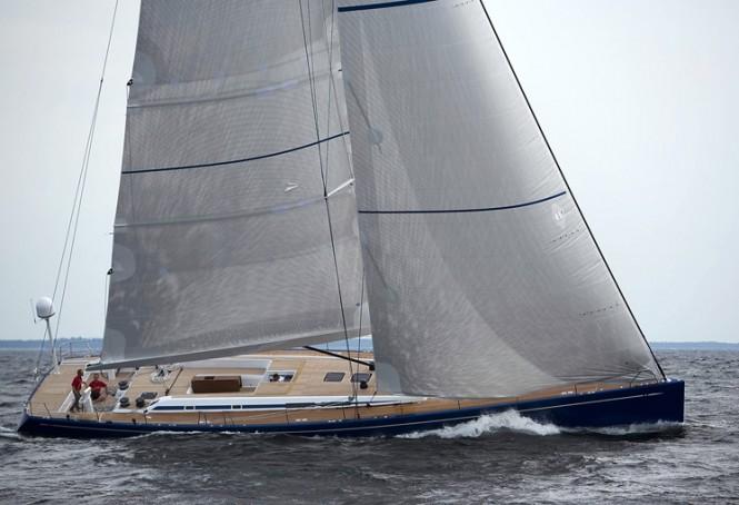 Swan 80 sailing yacht Selene