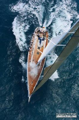 Swan 80 yacht Selene. Photo: RORC/Tim Wright