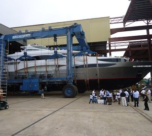 50m Tsumat Yacht Launched by Trinity Yachts