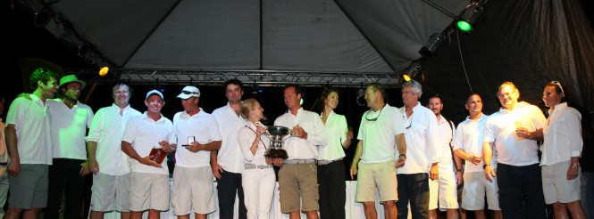 Team Selene Winners of the Swan Caribbean Challenge © Photoaction 2012