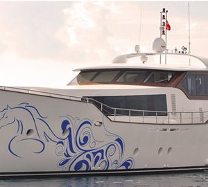 31.70m motor yacht AD5 successfully completed by Agantur Shipyard