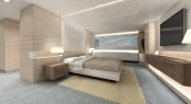 The 35m Arcadia 115 M´Ocean Superyacht Owner´s Suite