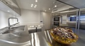 The 35m Arcadia 115 Superyacht M´Ocean Galley