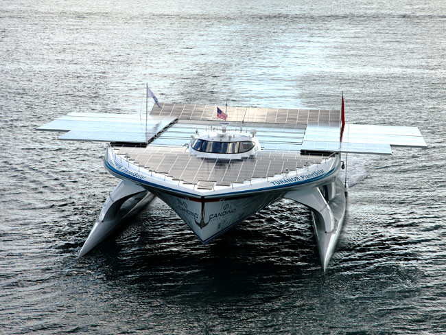 The 35m catamaran yacht MS Tûranor PlanetSolar
