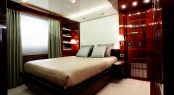 The 36.90m luxury motor yacht Domani Vip cabin