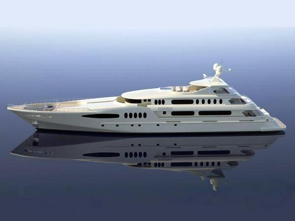 The 58m Luxury Motor Yacht Egeria