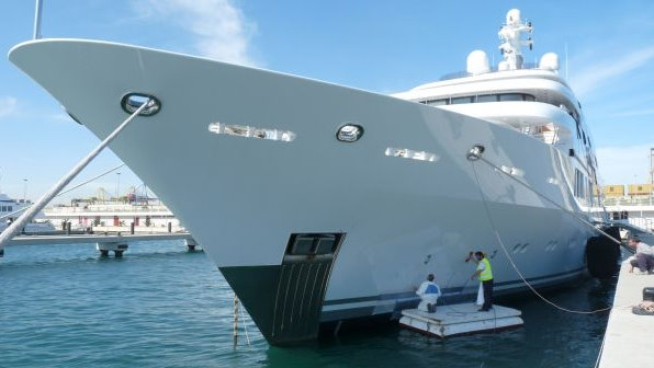 The 65m luxury yacht Saint Nicolas by Lurssen