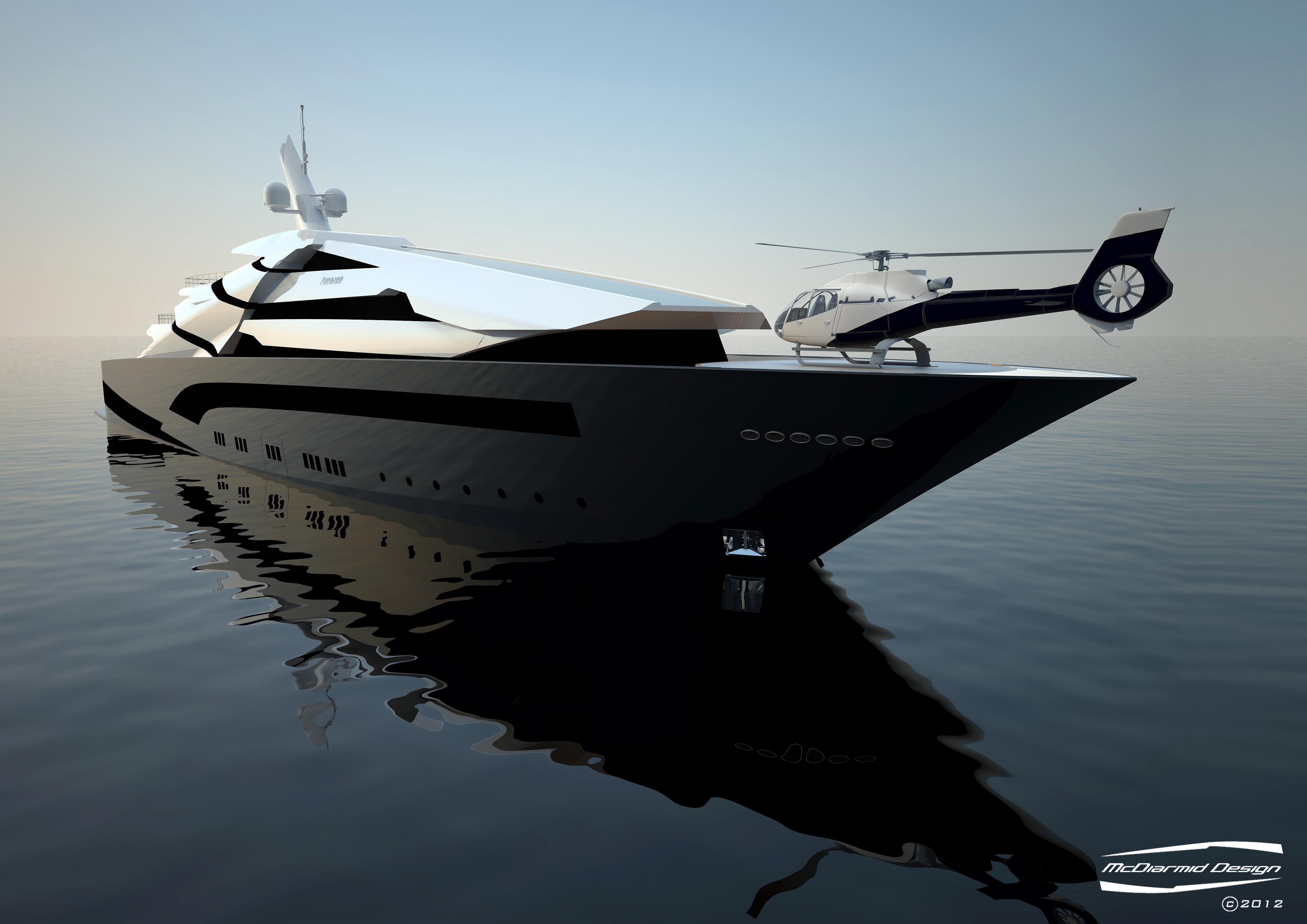 The 87m Super Yacht Iwana By McDiarmid Design