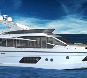 New motor yacht Absolute 72 Fly by Absolute Yachts due to be launched in Spring 2012