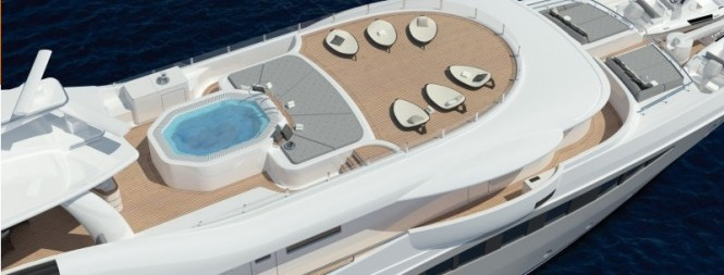 The Amels LE 180 Superyacht Exterior