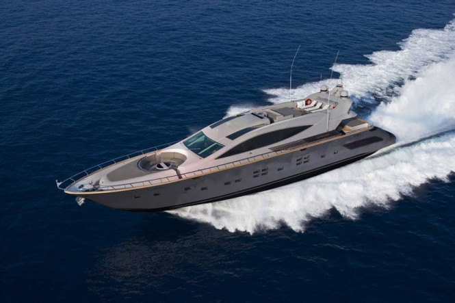 The Cerri 102´ Superyacht