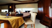 The Cinque Superyacht Dining Area