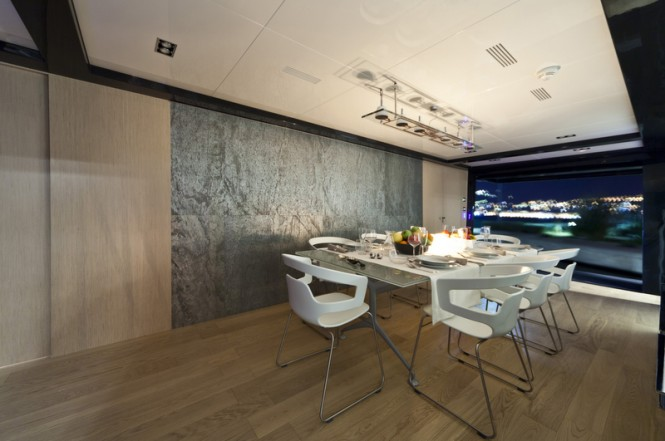 The M´Ocean Superyacht Dining Room