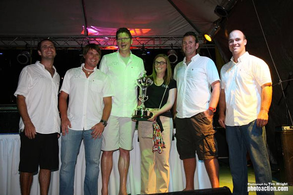 The RORC Caribbean 600 Trophy for the sailing yacht RAN Credit: Tim Wright/Photoaction