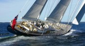 The luxury charter yacht SCHEHERAZADE