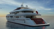 The luxury motor yacht Project Panorama by ISA Yachts