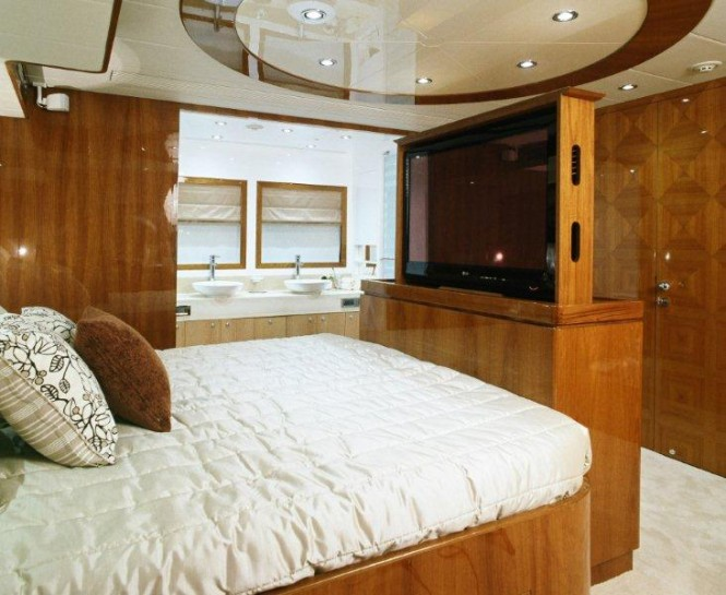 The luxury yacht AquaCat 80 Interior