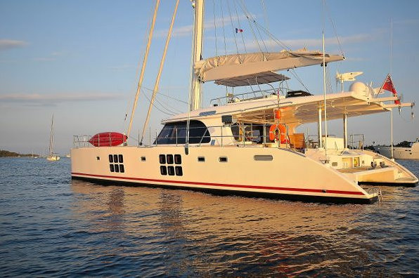 The luxury yacht Carpe Diem by Sunreef Yachts