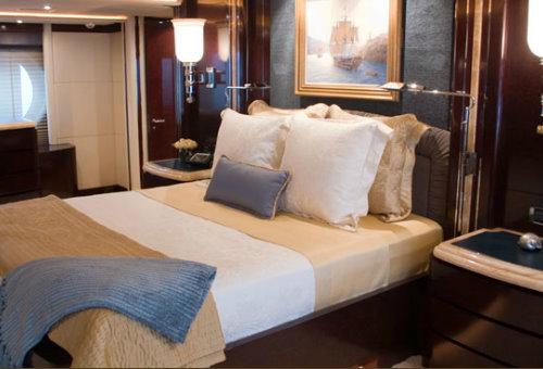 The luxury yacht Princess Too (ex Princess K)