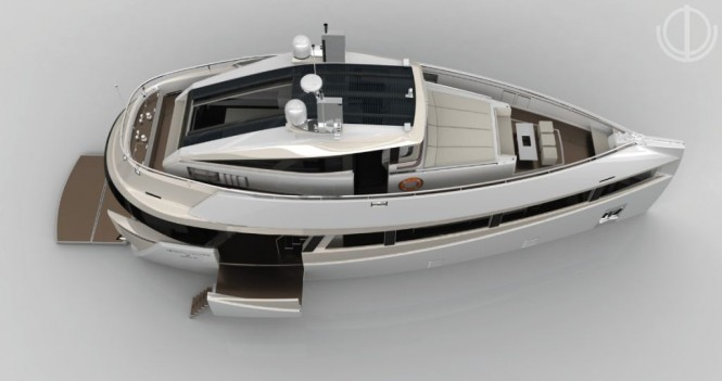 Motion Code: Blue SERION E60 motor yacht concept
