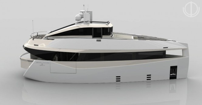 Motion Code Blue SERION E60 motor yacht concept