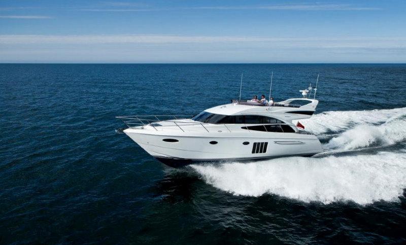 The new Princess 60 Yacht