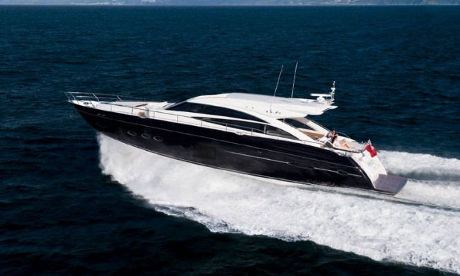 The new luxury yacht Princess V72 by Princess Yachts