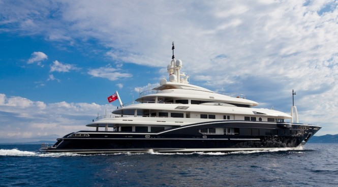 The stunning 70m Rossinavi Numptia superyacht designed by Tommaso Spadolini with interior by Achille Salvagni