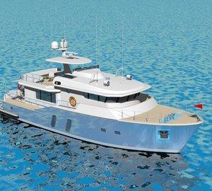 Three version motor yacht Pacific Class by Monaco Yachting & Technologies