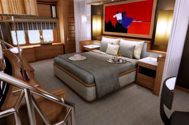 Trinity Yachts BLIND DATE yacht - Master Stateroom
